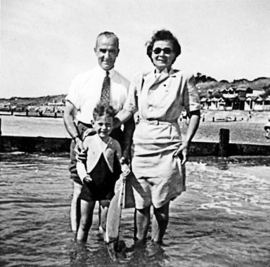 Frinton Beach 1950