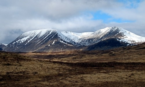 From Rannoch Moor.